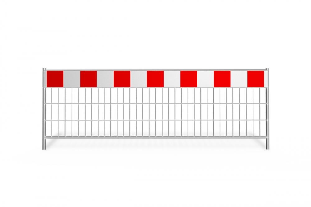 prz©sào tymczasowe_az-7 short_pas ostrzegawczy_25 cm