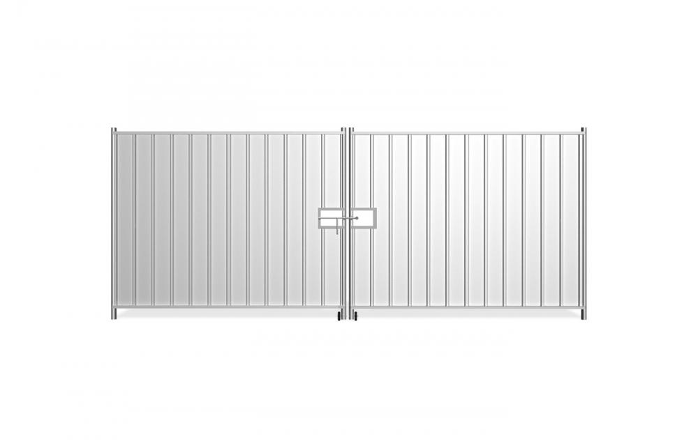 brama tymczasowa peàna_2x230 cm_front