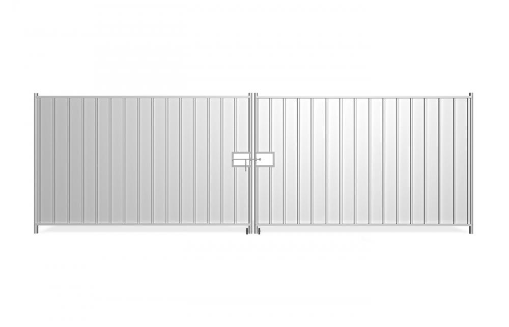 brama tymczasowa peàna_2x290 cm_front