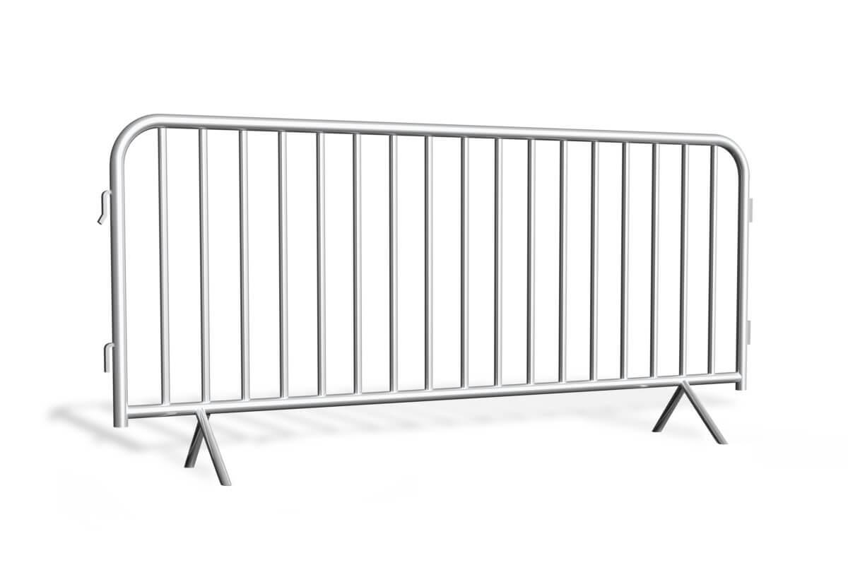 Bariery tymczasowe<br /> proste 2,5 m