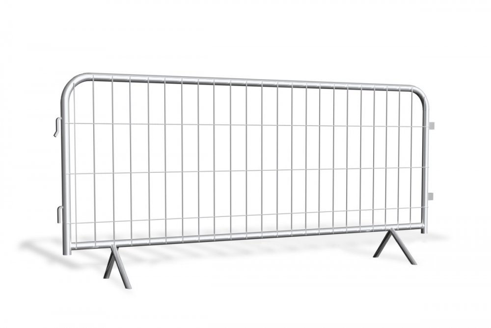 1 BARIERKA TYMCZASOWA (PRZESTAWNA, IMPREZOWA) – LEKKA 250 cm TYP MESH_2 start