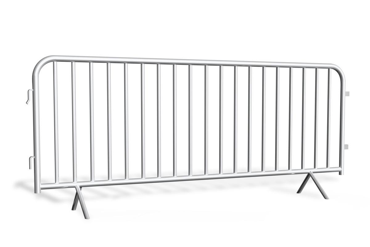 Bariery tymczasowe HDG Premium 2,5 m