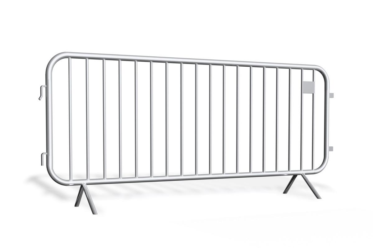 Bariery tymczasowe<br /> typ owalny 2,5 m