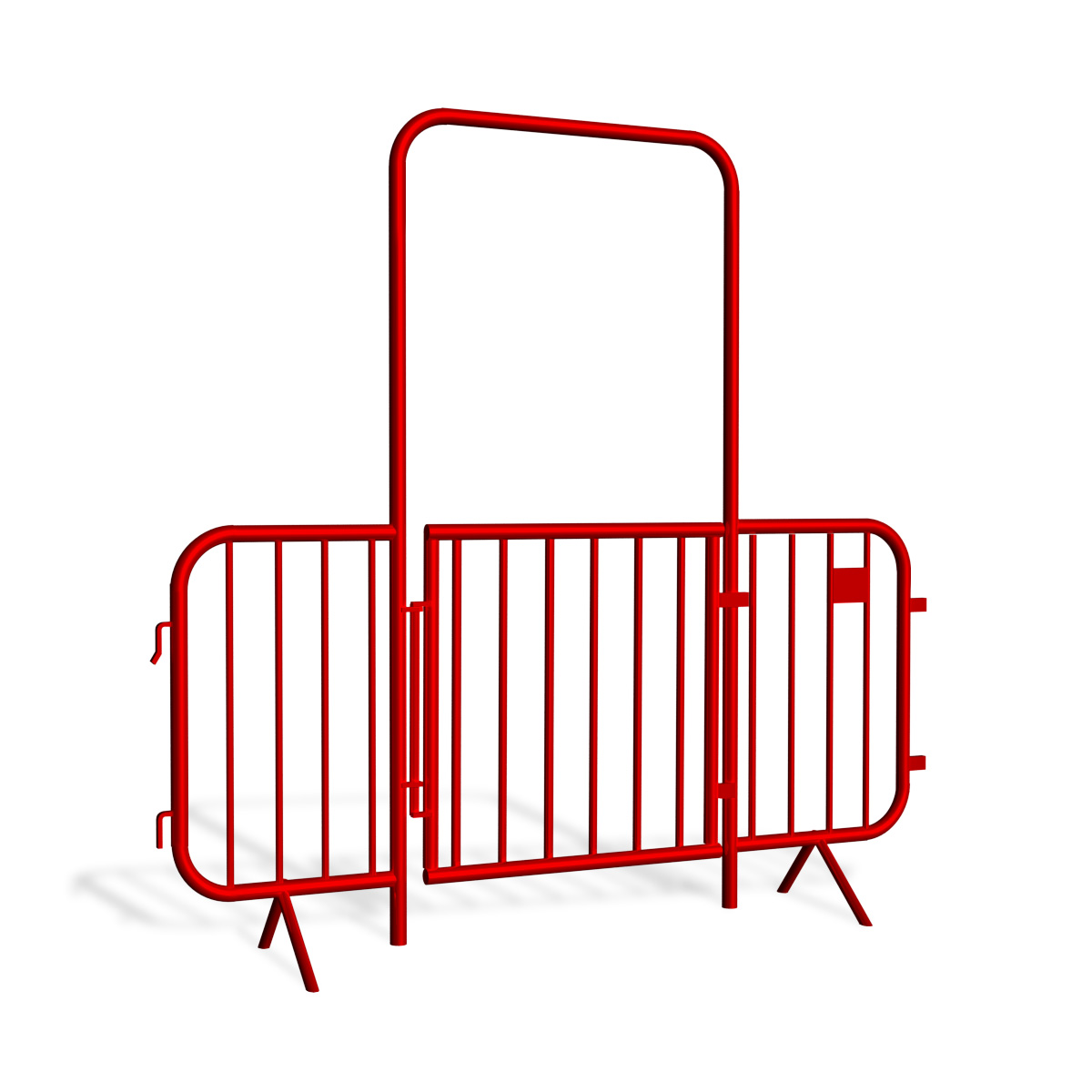 Furtki do barier tymczasowych