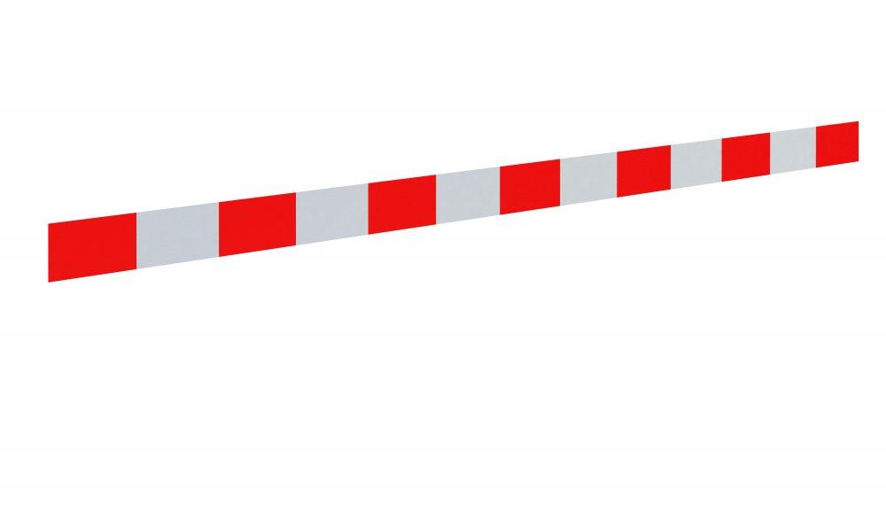 Pas ostrzegawczy biaào-czerwony (25 cm)