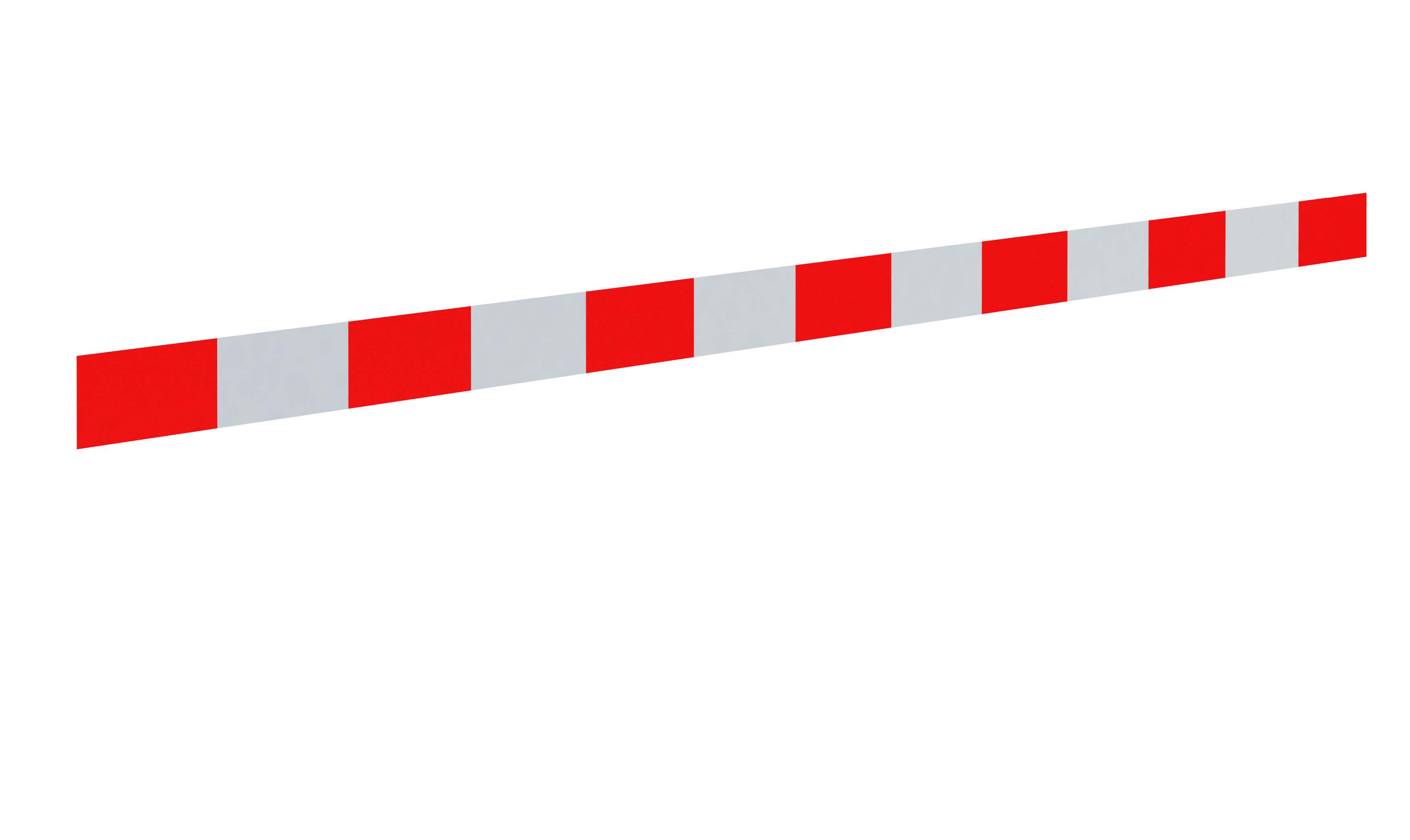 Pas ostrzegawczy<br /> biało-czerwony (25 cm)
