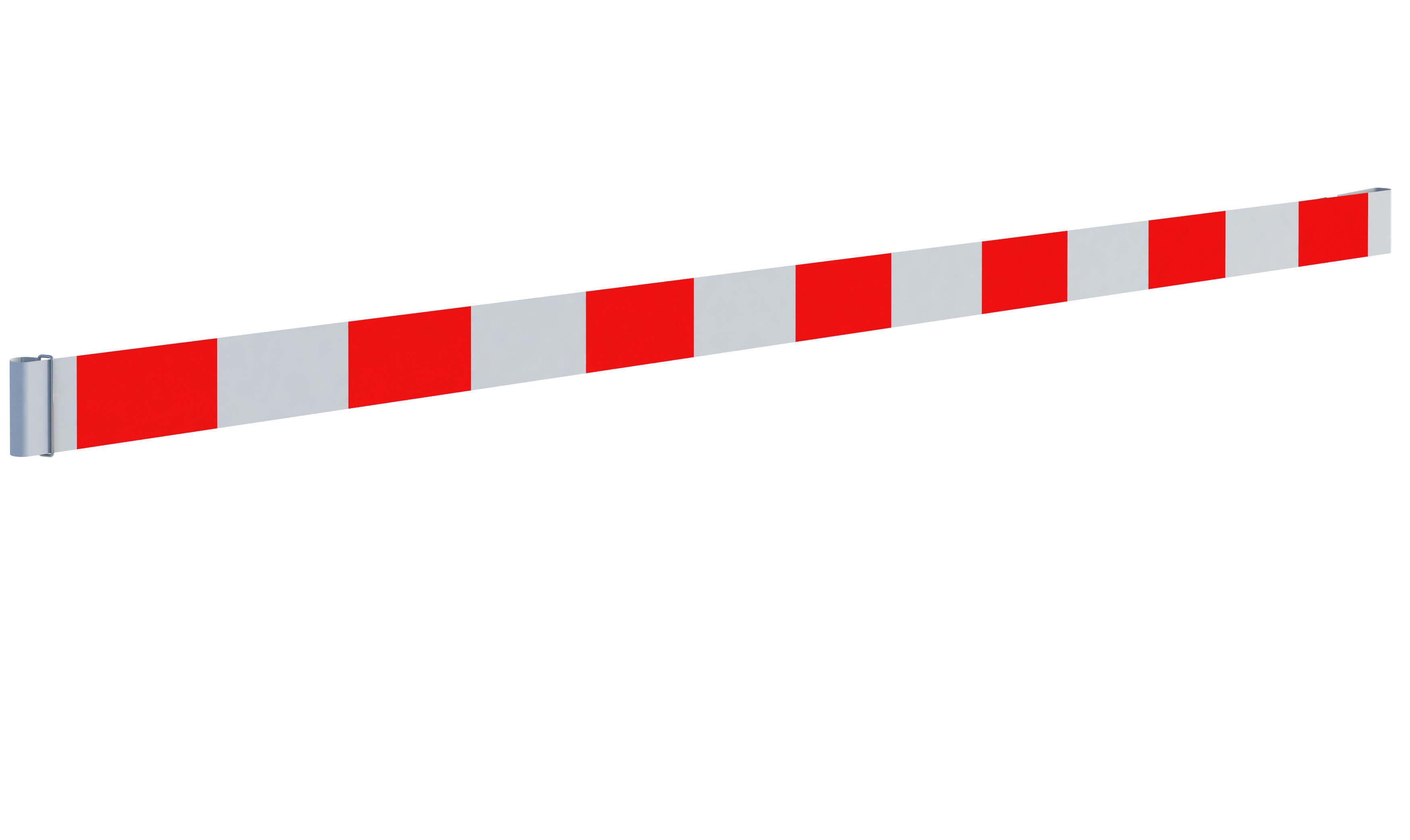 Taśma ostrzegawcza<br /> biało-czerwona (15 cm)
