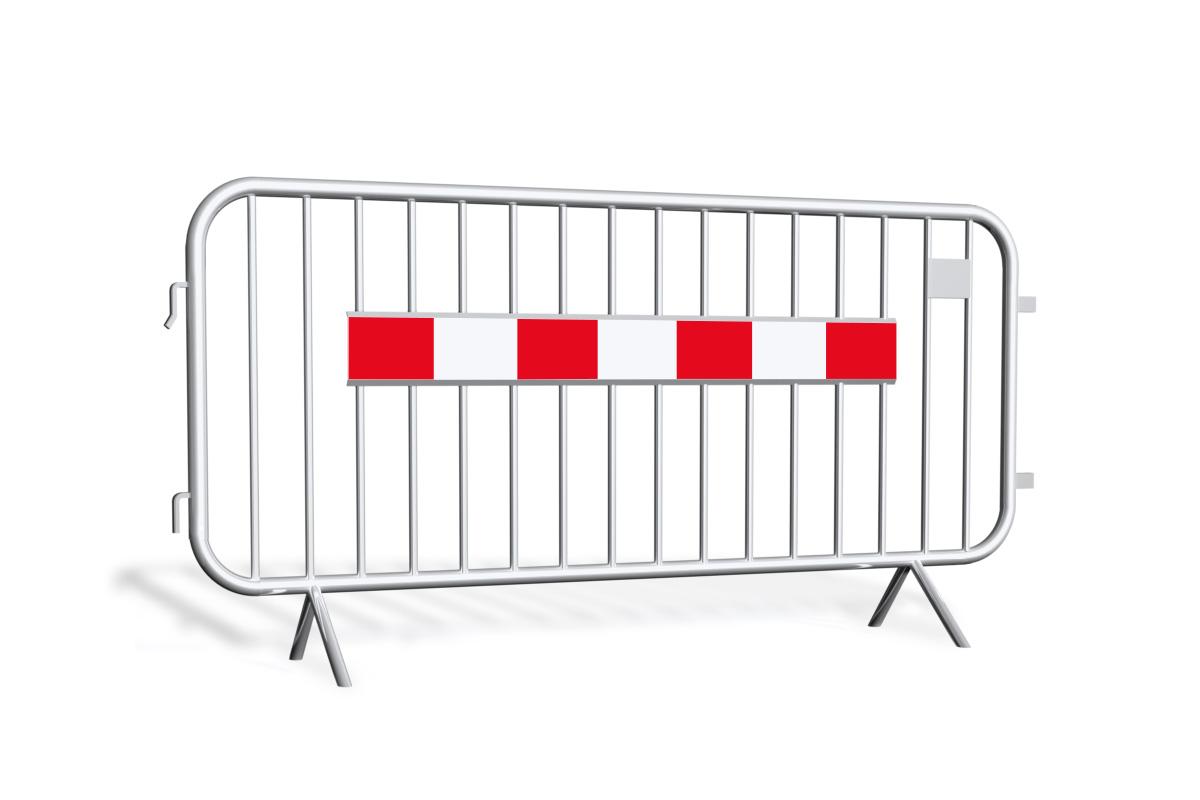 Bariery tymczasowe<br /> ostrzegawcze